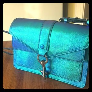 Iridescent Rebecca Minkoff crossbody bag!